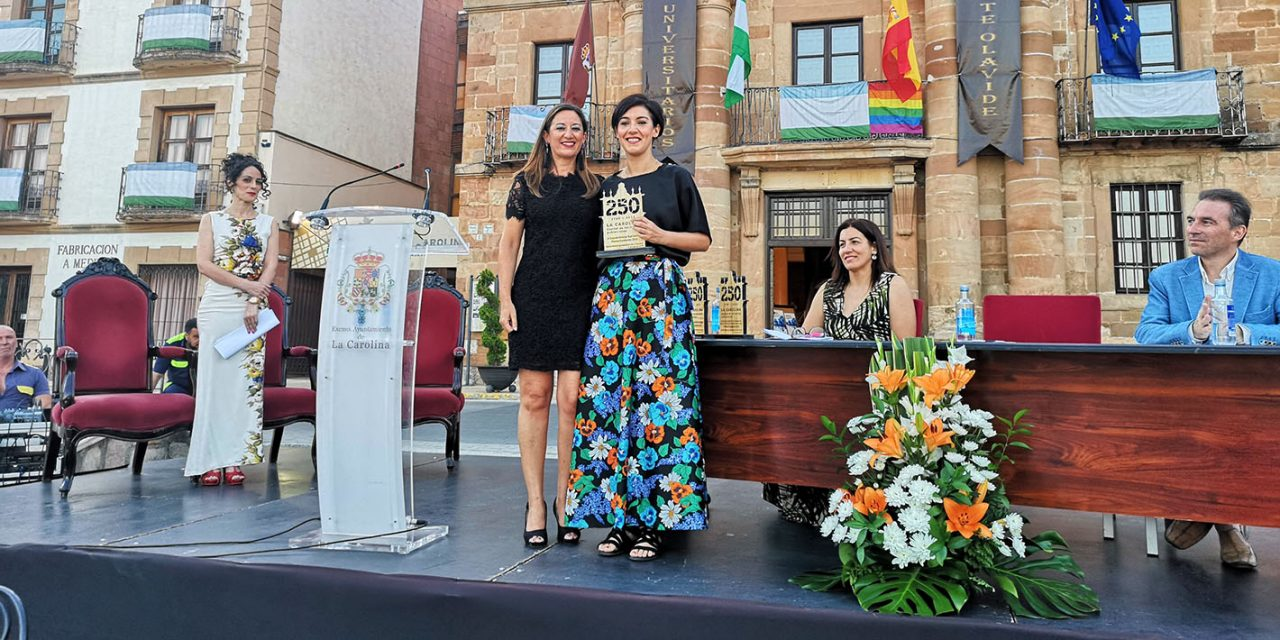 """La Carolina reconoce a la arquitecta Dolores Victoria Ruiz, al chef Miguel Ángel del Arco y al proyecto Iberlince con los """"Premios Fundación"""""""