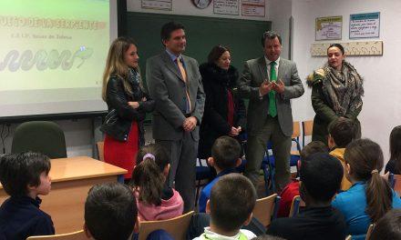 Alumnado del CEIP Navas de Tolosa participa en el 'Juego de la Serpiente'