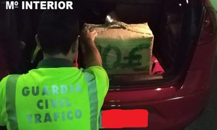 Un detenido en La Carolina con 30 Kgs de hachis