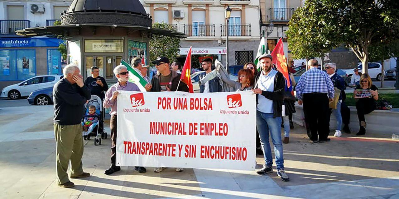 IU La Carolina exige al gobierno de Yolanda Reche máxima transparencia en los planes de empleo de la Junta de Andalucía