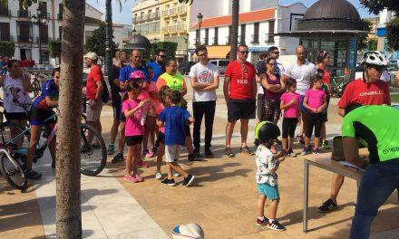 Más de 70 personas participan en la Gymkana