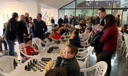 Ochenta participantes en el I Torneo Navideño de Ajedrez