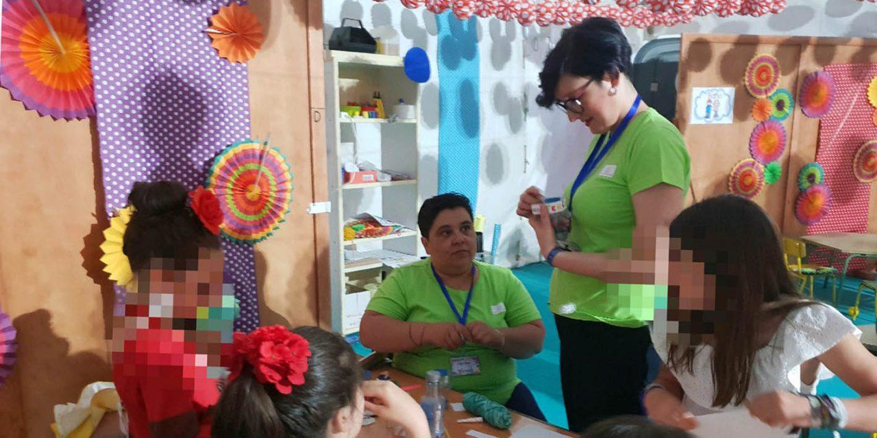 Casi 200 niños y 32 mujeres hacen uso de la ludoteca y de la sala de lactancia de la feria