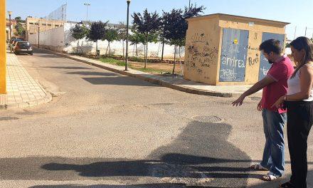 Mejoras en el alcantarillado de la calle Custodia Romero