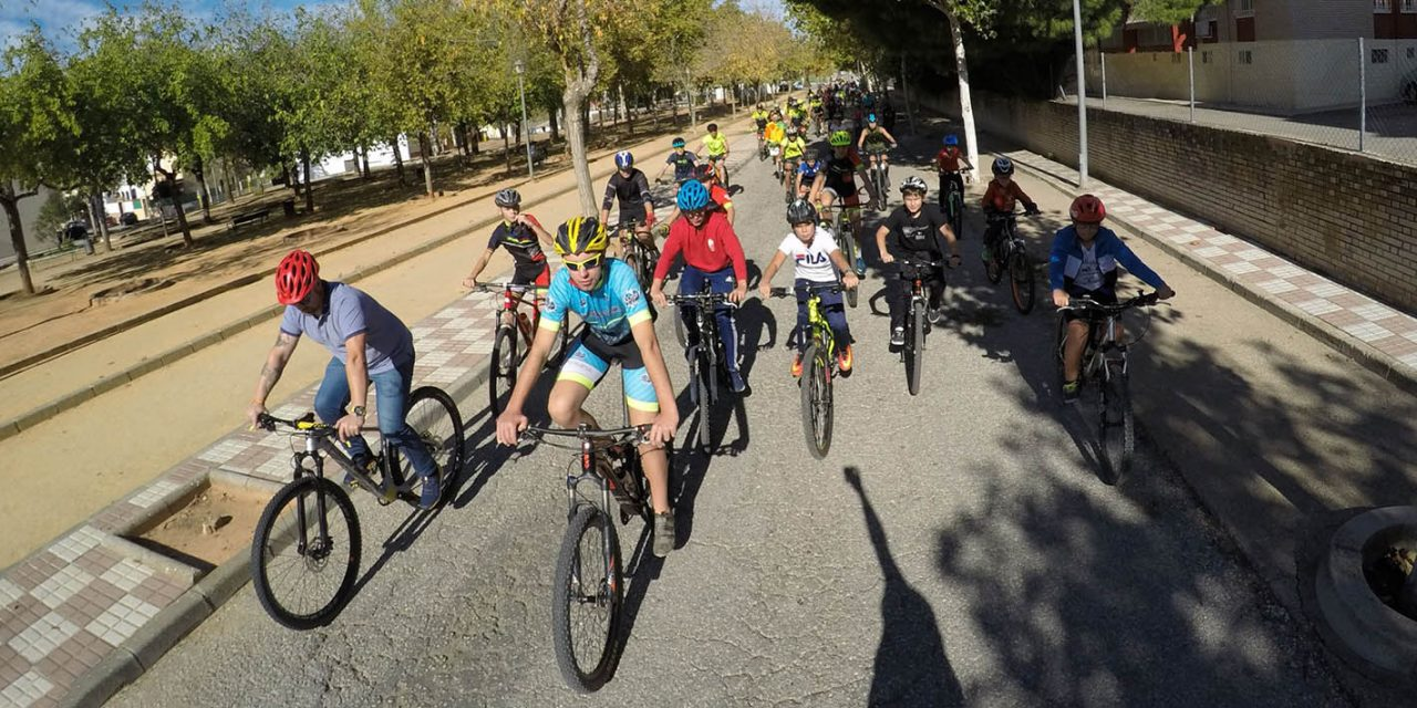 La Carolina celebra el 'Día de la Bici'