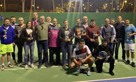 Luis García se alza como ganador en el X Torneo Pepe Passas de Tenis y Pádel