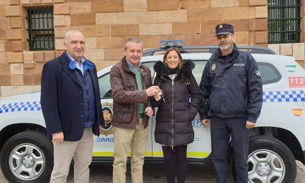 La Carolina adquiere un nuevo vehículo para la Policía Local