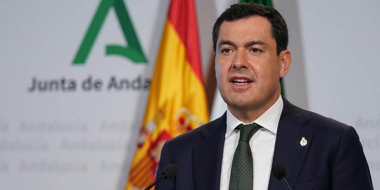 CRISIS CORONAVIRUS | Moreno pide a Sánchez agilizar la distribución del material sanitario y los tests de detección para el coronavirus