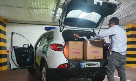 CRISIS CORONAVIRUS | Igualdad entrega 4.400 mascarillas para el personal de ayuda a domicilio a dependientes de la provincia