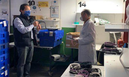 El Pablo Olavide de La Carolina se suma a la fabricación y distribución de material sanitario