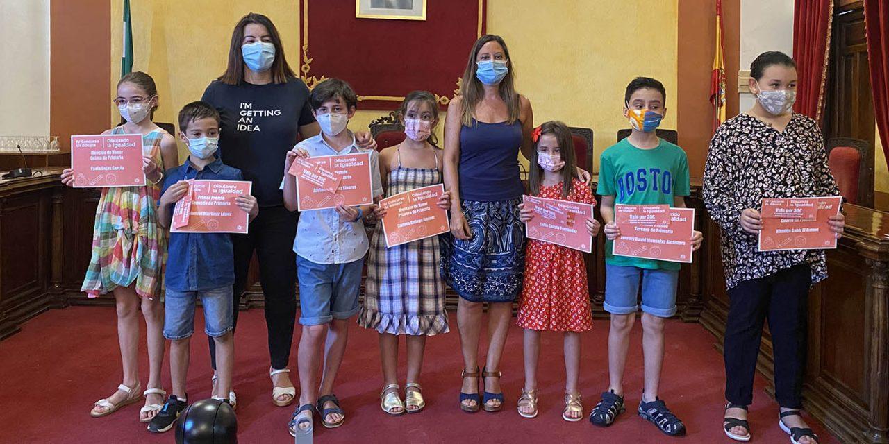 Entregados los premios del IV Concurso 'Dibujando la Igualdad'
