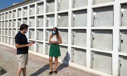El cementerio de La Carolina amplía su capacidad en 171 nichos