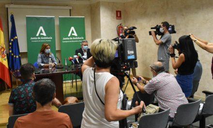 """Educación y Salud destacan la """"normalidad y la seguridad"""" en el inicio del curso escolar en Jaén"""