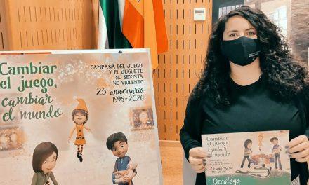 El IAM lanza en Jaén la campaña 'Cambiar el juego, cambiar el mundo' para concienciar sobre la elección de los juguetes