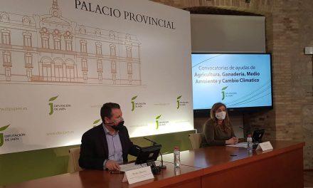 Diputación agiliza sus ayudas de agricultura, ganadería y medio ambiente, que se incrementan hasta los 980.000 euros