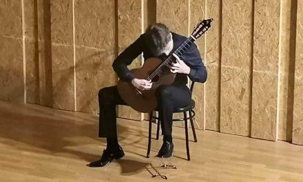 Excelencia en el concierto de José Luis Morillas en La Carolina