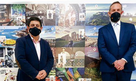 Reyes analiza con el secretario de Estado de Turismo planes de dinamización turística en el marco de los fondos europeos