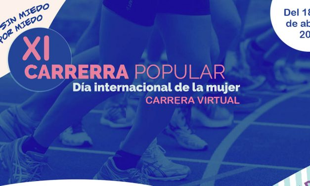 IX Carrera Popular del Día Internacional de la Mujer a beneficio de la Asociación de Alzheimer Felipa Delhado