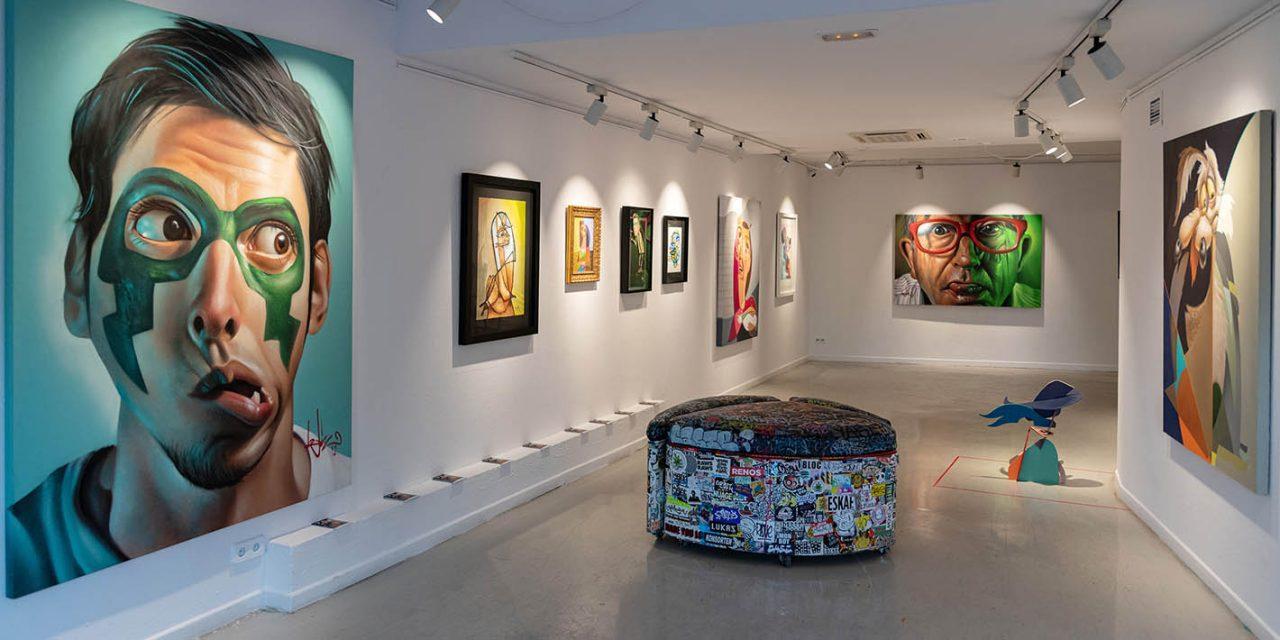 Belin expone una retrospectiva de su obra en Montana Gallery de Barcelona hasta el 8 de mayo
