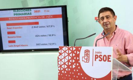 """Paco Reyes: """"Hoy hemos dado el primer paso para lograr el cambio en Andalucía. El PSOE ha vuelto"""""""