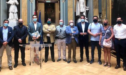 La comisión permanente del CES provincial se reúne en el Senado para analizar y debatir los proyectos urgentes para Jaén