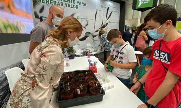 EXPOLIVA   La UJA organiza en EXPOLIVA 2021 dos talleres divulgativos sobre variedades de olivo y paisajes del olivar en 3D